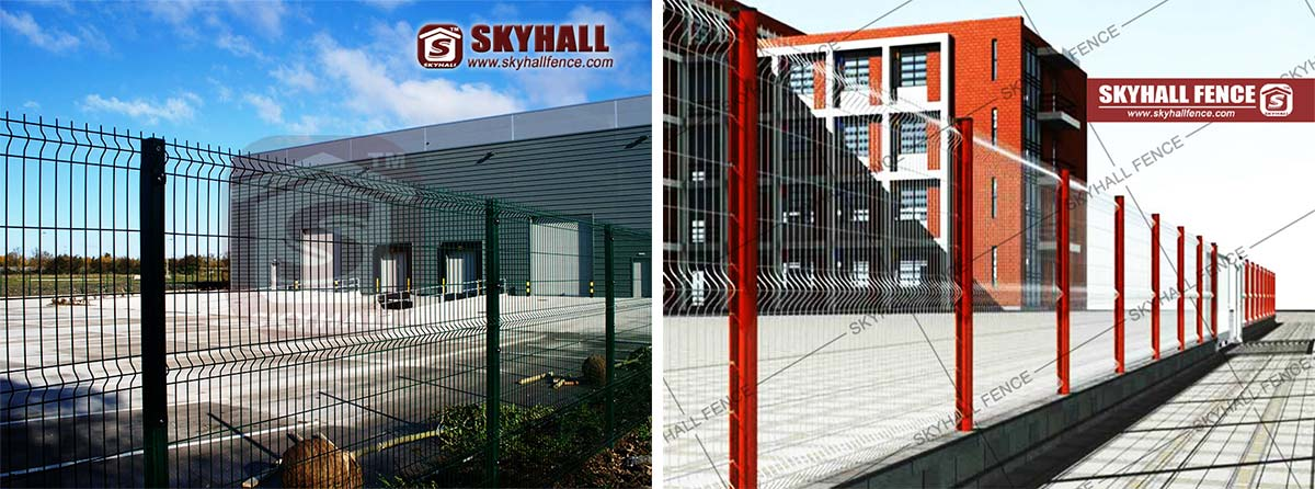 SERIES Welded Mesh Fence