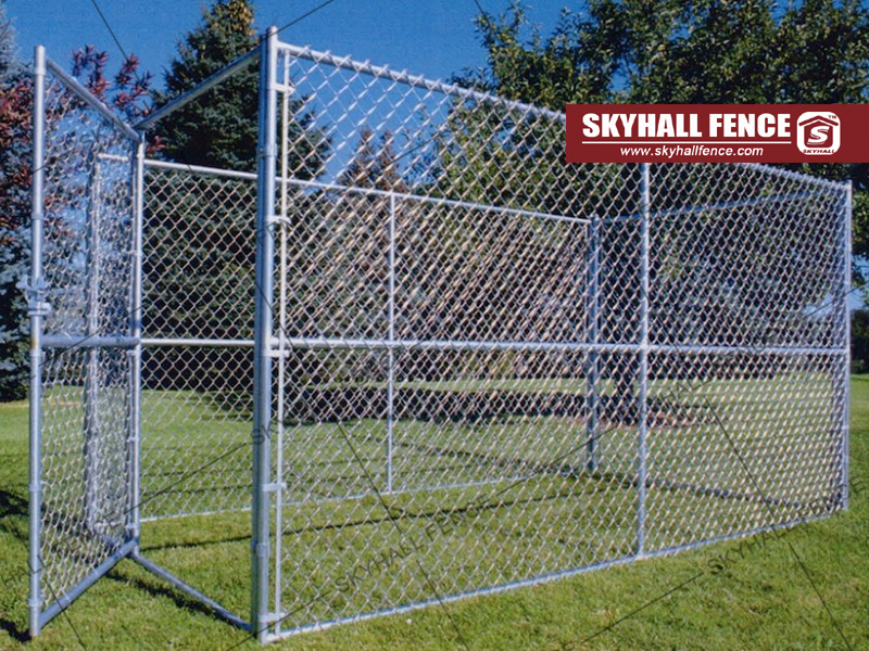 temporary fence in game
