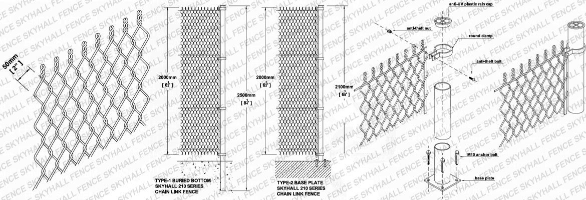 210 Chain Link Fence
