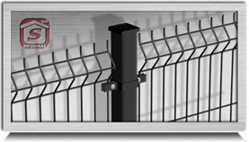 110 Welded Mesh Fence